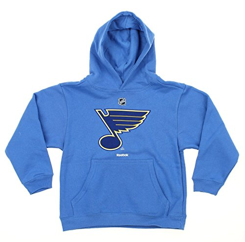 NHL Big Boys Youth / Little Boys Kids Team Logo Pullover Hoodie, Various Teams (St. Louis Blues, X-Large (18-20))