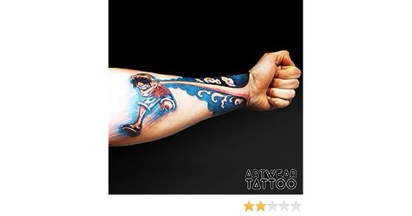 3 Tatuajes temporales Realistico di artista