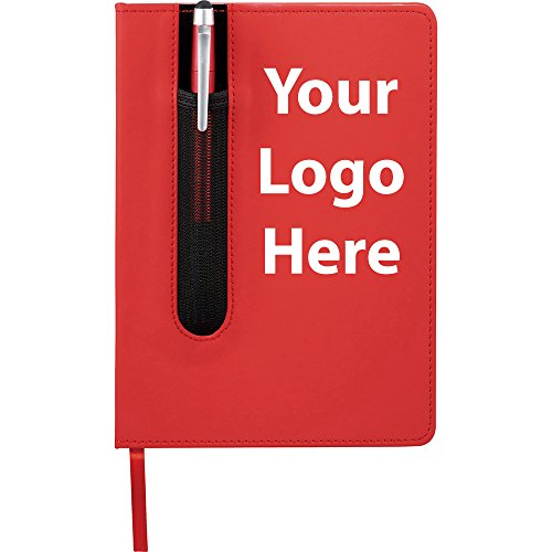 Valby Notebook with Pen Stylus - 150 Quantity - $3.45 Each - PROMOTIONAL PRODUCT / BULK / BRANDED with YOUR LOGO / CUSTOMIZED by Sunrise Identity