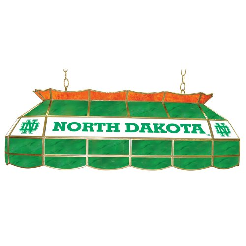 NCAA University of North Dakota Tiffany Gameroom Lamp, 40'' by Trademark Gameroom