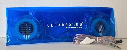 Pillowsonic Stereo Pillow Speaker – Blue