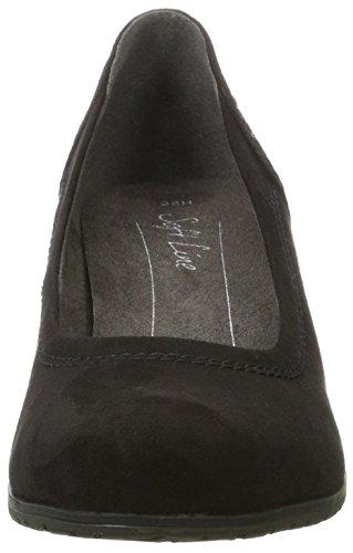 Black Noir Softline Femme Noir 22461 Escarpins wS7wqxYAP