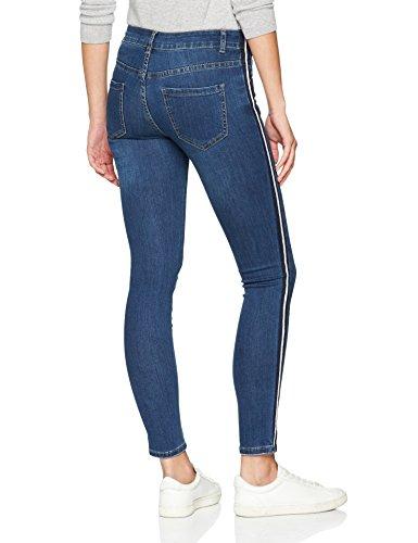 denim Cartoon Slim Jeans 8619 Donna middle blue Blu World pfpqrw06