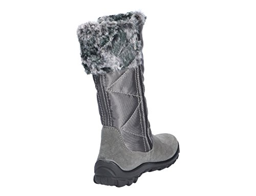 pour Bottes Haley Ricosta Gris Fille TXZZqF
