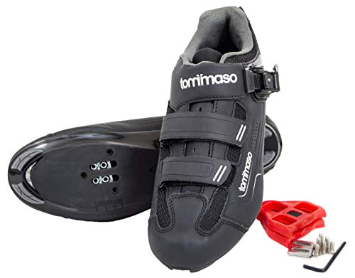 3aaed4abb8f Tommaso Strada 200 Dual Cleat Compatible $124.36 $113.04. Brand: tommaso ·  Sportmore Bike Cleats For Cycling Shoes