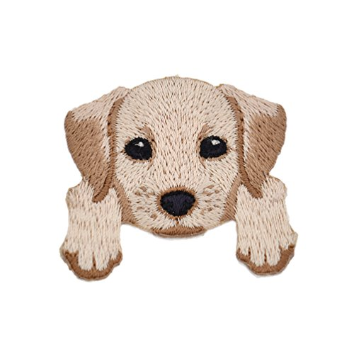 Towashine 1Pc Cute Dog Puppy Iron on Applique Patches for Clothes Jeans Jacket 12 Styles