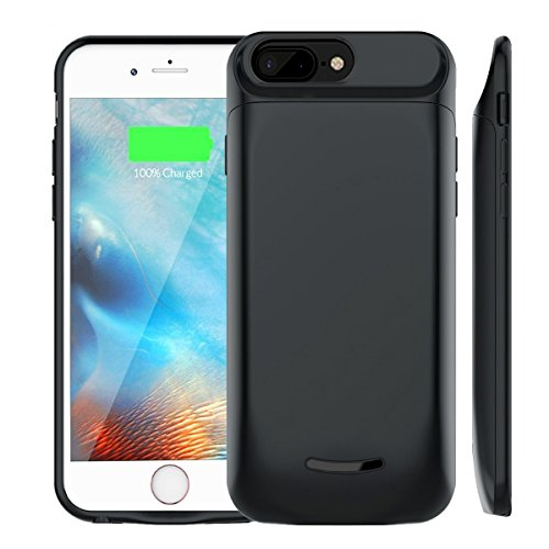 Battery Case for iPhone 6Plus/6s Plus/7 Plus/8 Plus, Elzle 5000mAh Portable Charging Case Extended Power Battery Juice Pack for iPhone 5.5 inch