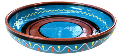 Terracotta Blue, Serving Dish - Hand Painted From Spain