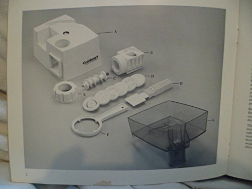 Cuisinart DLC 054 Pasta Attachment Processor