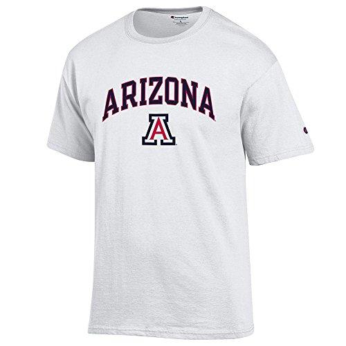 Arizona Wildcats T-shirts (Arizona Wildcats TShirt Varsity White - XL)