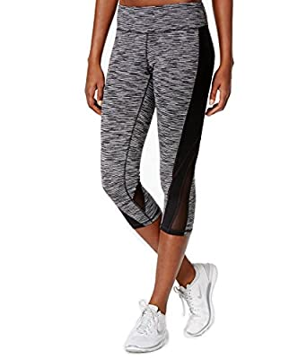 Ideology Women's Space Dyed Cropped Active Leggings