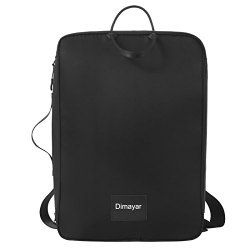 Cheap Travel Backpack by Dimayar Water Resistant Traveling Backpack for Men & Women Lightweight Slim Business Backpack 15.6″ Travel Laptop Backpack Black