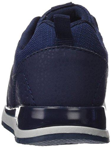 bass3d Unisex-Kinder 042127 Sneakers Blau (Navy)