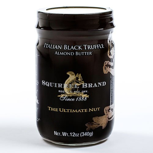 Squirrel Brand Italian Black Truffle Almond Butter, 12 oz.