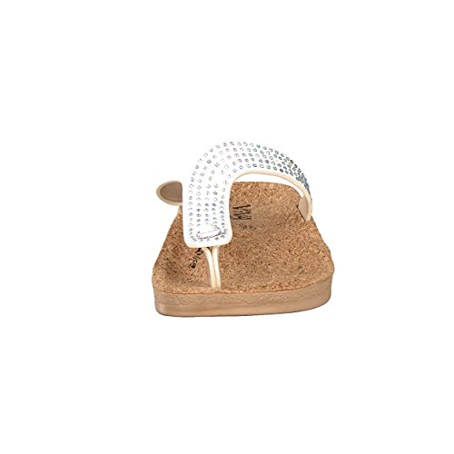 brandsseller - Sandalias para mujer Weiß