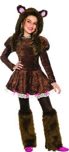For Girls Costume Criminal (Beary Adorable Costume,)