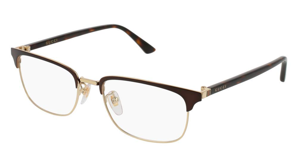 Eyeglasses Gucci GG 0131 O- 002 BROWN / AVANA by Gucci