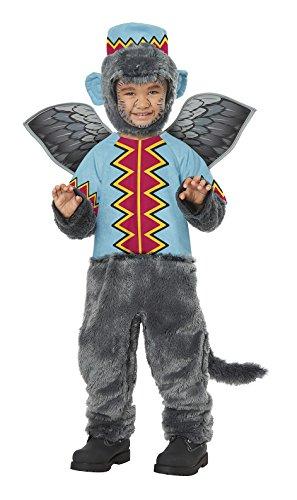 Wizard Of Oz Monkey Costume (Flying Monkey of Oz Toddler Costume)