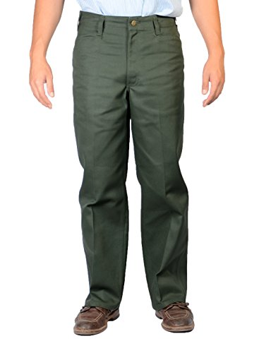 (Ben Davis Olive Original Ben's Cotton Twill Pants 36X32)