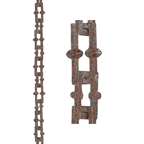 Bamboo Chain Rain (Good Directions Bamboo Rustic Aluminum 8.5-Foot Rain Chain)