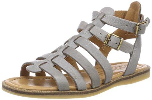 Bisgaard 70268118, Sandalias de Gladiador para Niñas Gris