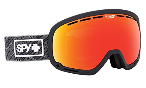SPY Optic Marshall Knit Gray Snow Goggles | Aviation Scoop Design Ski, Snowboard or Snowmobile...
