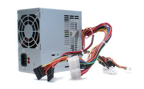 Genuine 250 Watt - 300 Watt XW600 XW601 Replacement Power Supply Power Brick PSU, For Dell Vostro 200, 201, 400, 220, Inspiron 530, 531,541, 518, 519, 537, 545, 546, 540, 560, 570, & 580 Mini Tower (MT) Systems, Replaces Part Numbers: 9V75C, C411H, CD4GP, by Dell (Image #1)