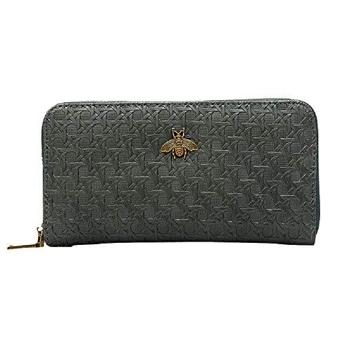 Embossed with Long Bag Brown Evening ZHRUI Elegant Clutch Shoulder Bag Bag Clutch Envelope Ladies Leather Chain Brown Handbag in Color Look 4wdawxqZp