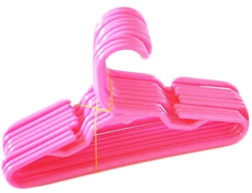 DollsHobbiesNmore Hangers Compatible with American Girl Doll, 12-Piece, Pink
