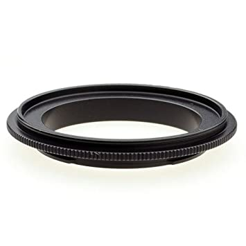 DSLRKIT 62mm Macro Reverse Adapter Ring for Canon EF Mount