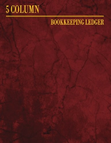 Price comparison product image 5 Column Bookkeeping Ledger