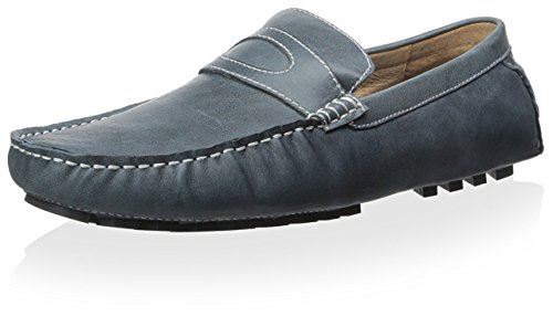 Zanzara Mens Pucci Driving Loafer Marine