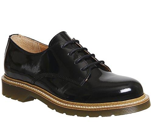 Flourish Noir À Chaussures Verni Cuir Office Lacets En Yybg7f6