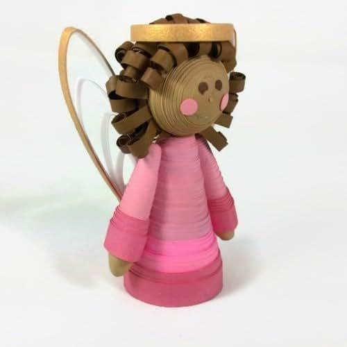 Small Angel Christmas Tree Topper: Amazon.com: Custom Handmade Angel Miniature Tree Topper