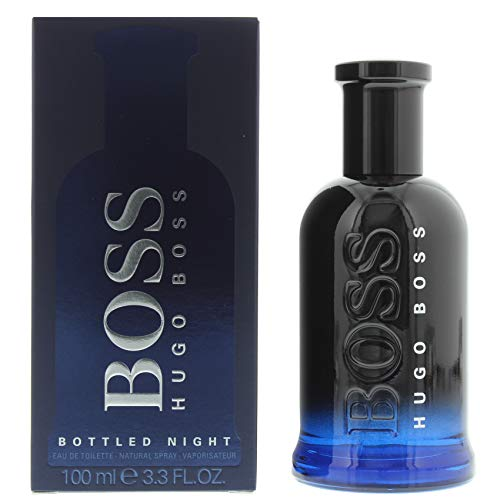 (Hugo Boss BOTTLED NIGHT Eau de Toilette, 3.3 Fl Oz)