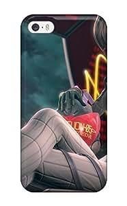 GoSNxDc6443pMNgK CaseyKBrown Neon Genesis Evangelion Anime Girl Feeling Iphone 5/5s On Your Style Birthday Gift Cover Case