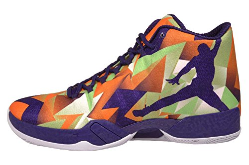 nike air jordan XX9 scarpe sportive da basket alte da uomo 695515 scarpe da tennis BRIGHT MANDARIN WHITE LIGHT POISON GREEN 805