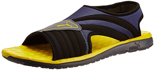 fe513d655d4 Puma Men s Faas Slide Black Mesh Athletic   Outdoor Sandals - 9 UK India  (43 EU)  Buy Online at Low Prices in India - Amazon.in