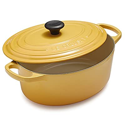 Le Creuset Signature Honey Oval French Oven LS2502-251MSS , 3½ qt.