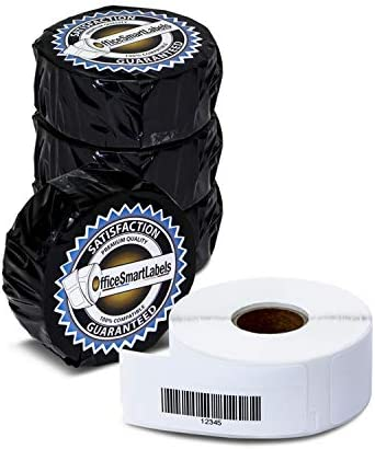 """OfficeSmartLabels - 3/4"""" x 2-1/2"""" Barcode Labels, Compatible with 1738595 (1 Roll - 450 Labels Per Roll)"""