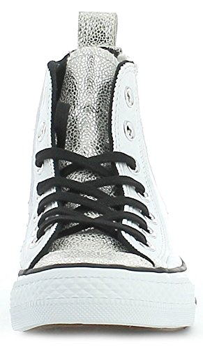 Converse - Converse All Star Hi White Scarpe Sportive Donna - Blanco, 39,5