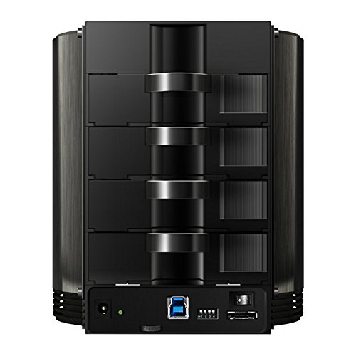Vantec NexStar HX4R NST-640S3R-BK Quad 3.5-Inch SATA to USB 3.0 & eSATA External Hard Drive Raid Enclosure with Fan by Vantec (Image #2)