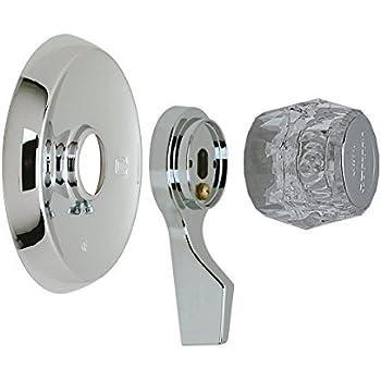 LASCO 31691SN Satin Nickel Trim Set Fits Mixet Brand - Faucet Trim ...