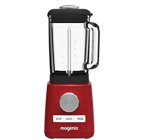 Magimix 11623 - Licuadora (1,8 L, 600 RPM, 15000 RPM, 1,8 L ...