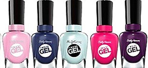 - 10 Sally Hansen Miracle Gel 10-Piece Random Color's Fingernail Polish Beautiful Colors
