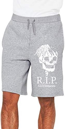 XXXTentacion ラッパー ハーフパンツ ショートパンツ フィットネス スポーツ ランニング 吸汗速乾 ズボン カジュアル メンズ