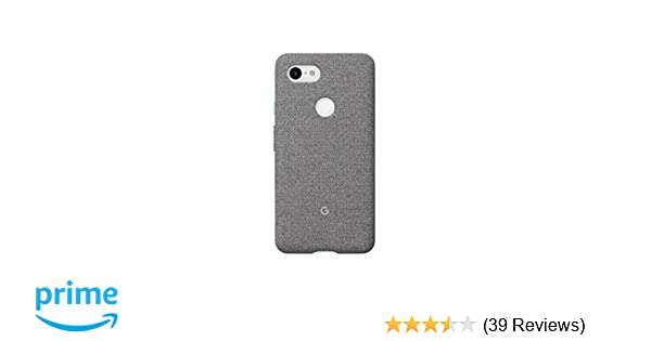 new style e9981 555f0 Google Fabric Case Cell Phone Case for Pixel 3 - Fog Fabric