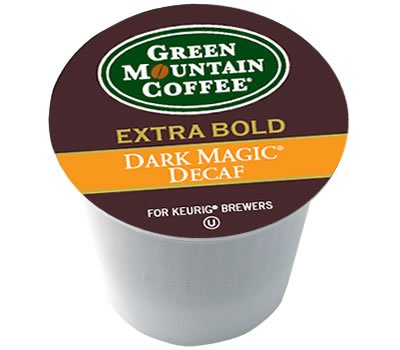 Green Mountain Coffee - Dark Magic Espresso DECAF 24 Look on K-Cups - (Pack of 4)