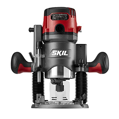 SKIL 14 Amp Plunge and Fixed Base Router Combo RT1322-00