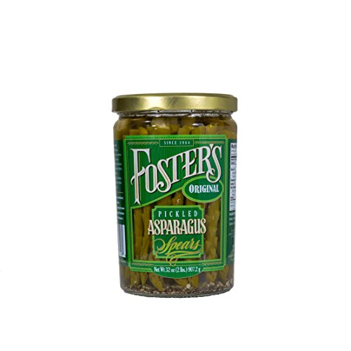 Foster's Pickled Products Asparagus Original, 32 oz.  (Pack of 3) (Pickled Asparagus)